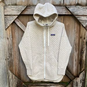 NWT Patagonia Cotton Quilt Hoody Women's Sweater